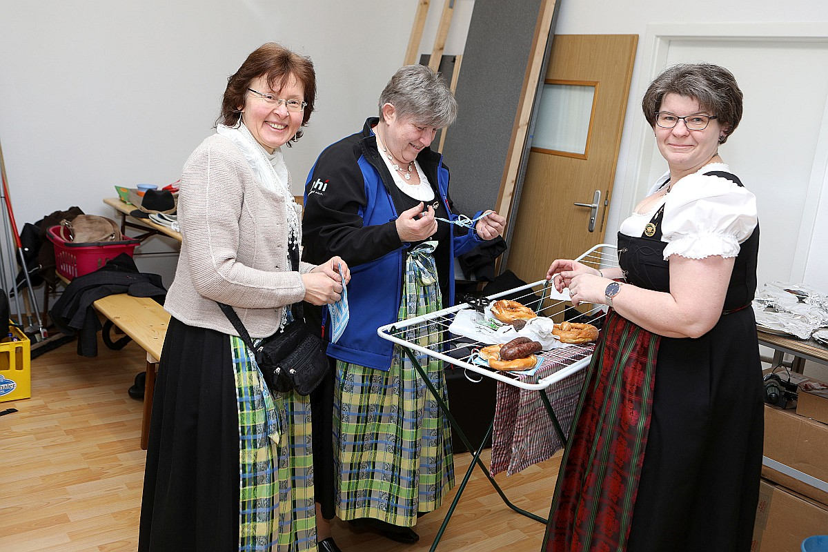 Bockbierfest des Schützenvereins Burgsteinfelsen Dollnstein 2018 17.03.2018 in Dollnstein. Foto: Worsch Daniel