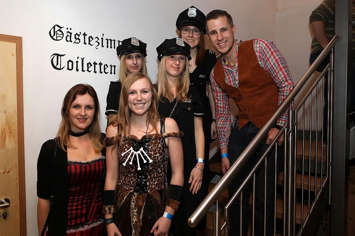 Faschingsball des SV Burgsteinfelsen Dollnstein am 27.01.2018 im Bayrischen Hof Dollnstein. Foto: Worsch Daniel