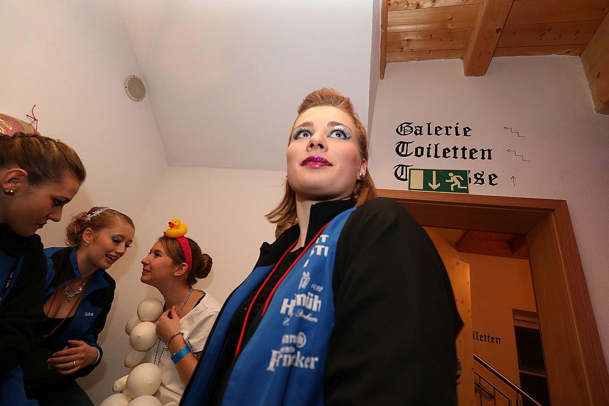 Faschingsball des SV Burgsteinfelsen Dollnstein am 28.01.2018 im Bayrischen Hof Dollnstein. Foto: Worsch Daniel