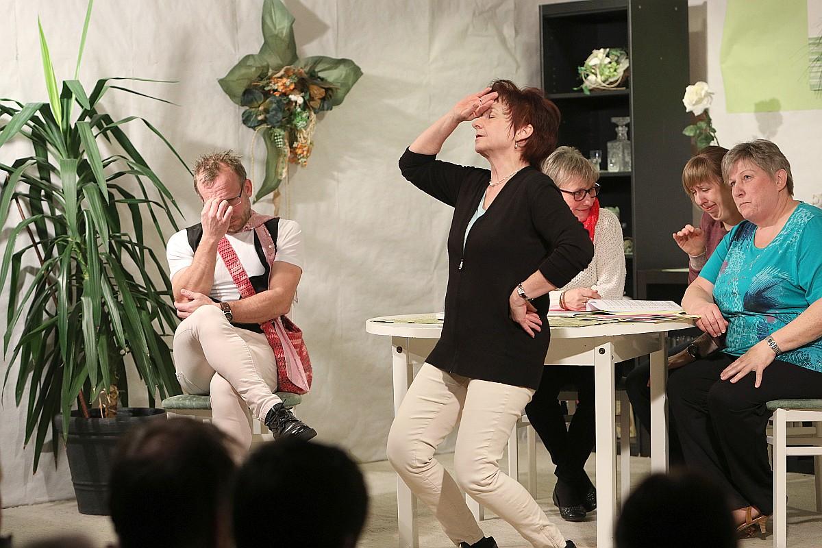 Theateraufführung des SV Burgsteinfelsen Dollnstein am 05.01.2018 in Dollnstein. Foto: Worsch Daniel